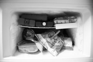 frosted fridge