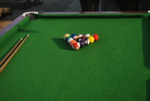 pool table balls handled by pool table movers Fort Worth