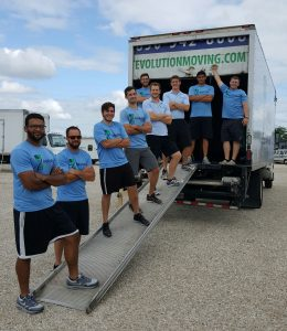 Evolution Moving Company staff