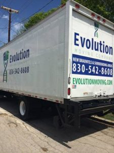 Evolution Moving Truck