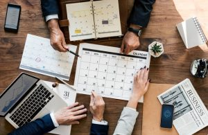 Making a schedule is good for moving your office