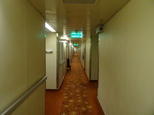 Narrow hallways