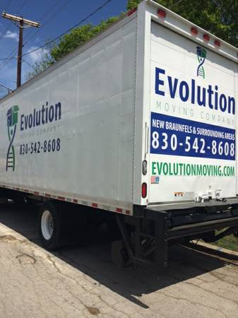 Evolution Moving truck - the best among movers Weatherford TX offers