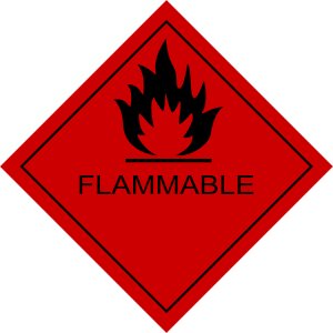 Flammables are amoung things not to pack when moving.