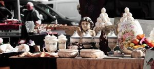 Organizing a garage sale is one of the best spring cleaning moving tips
