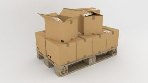 -boxes on the palett