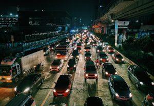 -traffic jam
