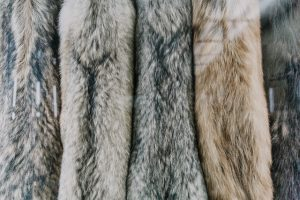 Fur on hangers