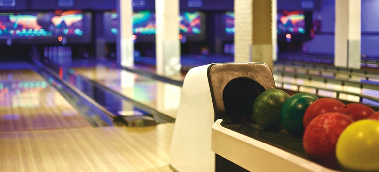 Bowling alley - a place you can go and enjoy springtime in Plano TX