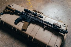 Packing firearms
